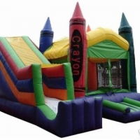 Crayola Bounce Slide Combo 18x17