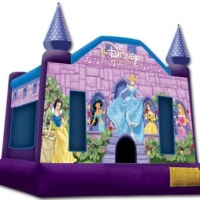 Disney Princess Castle 15 x 16 x 15 feet tall