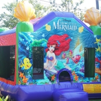 Mermaid Bouncer House