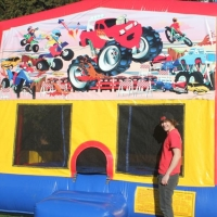 Monster Truck Bouncer 15x15x13H