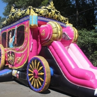 Princess Carriage 13x31x16H
