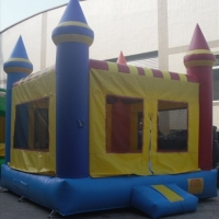 Rainbow Castle Bouncer