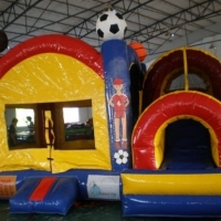 Sports Combo Inflatable 15 X 14 X 10 high
