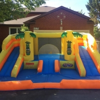 Toddler Bounce n Slide