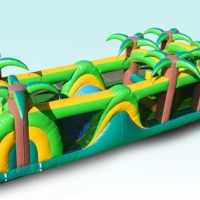 Tropical Obstacle Course Dimensions 38 × 9.5 × 10 ft