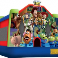 Toy Story 3 Combo 7 in 1: 22'L x 19'W x 15'H